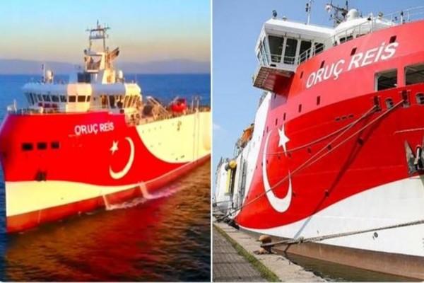 Νέα ανακοίνωση από την πρεσβεία της Τουρκίας στις ΗΠΑ - Το Oruc Reis άρχισε τις σεισμικές έρευνες