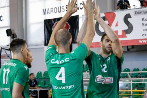 Volley League: «Πράσινη» λύτρωση και πρωταθλητής 14 χρόνια μετά ο Παναθηναϊκός