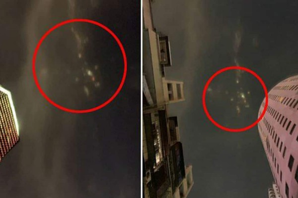 Παράξενα μυστηριώδη φωτάκια κίτρινα, κόκκινα και μπλε στον ουρανό της Κίνας - «Πάγωσαν» οι κάτοικοι (Video)