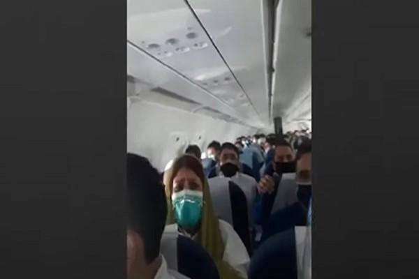 Θρίλερ σε πτήση: Αεροπλάνο έπεσε σε αναταράξεις και οι επιβάτες ούρλιαζαν (Video)