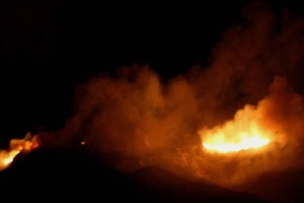Πυρκαγιά σε κατοικημένη περιοχή στον Γέρακα!