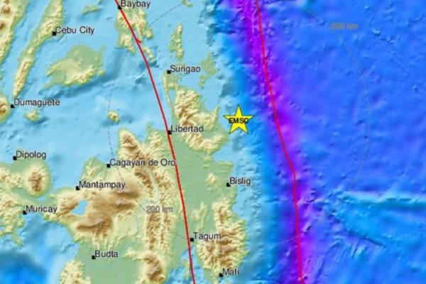 Σεισμός 6,1 Ρίχτερ στις Φιλιππίνες