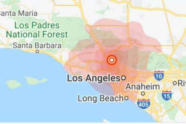 Σεισμός 4,2 Ρίχτερ στο Λος Άντζελες (photo)