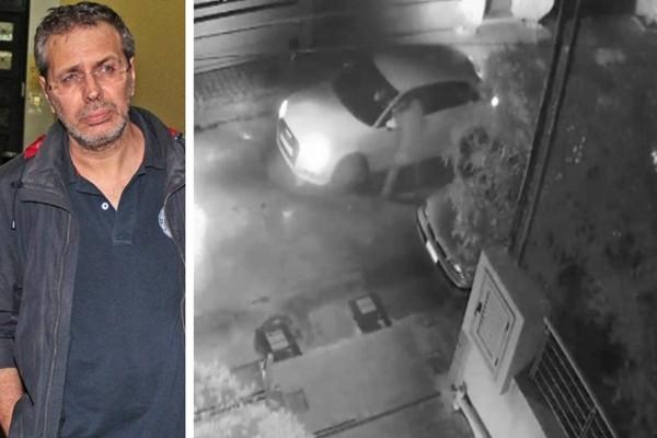 Καρέ καρέ η δολοφονική επίθεση στον Στέφανο Χίο - Η στιγμή που ο δράστης μπουκάρει από το παράθυρο για να τον σκοτώσει! (photos)
