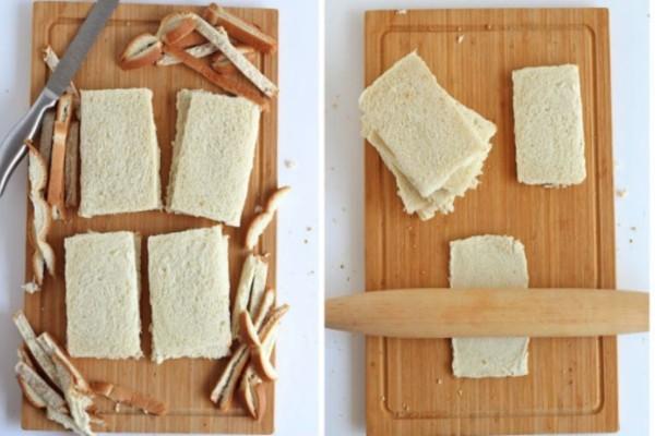 Βγάζει την κόρα από το ψωμί του τοστ και το πλάθει - Το αποτέλεσμα; Μοναδικό