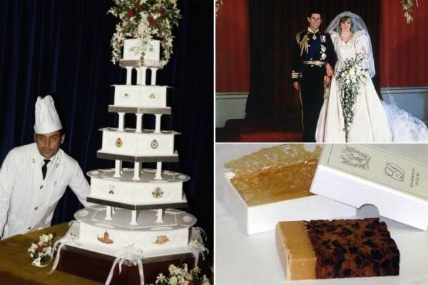 Αδιανόητο: Πόσο κοστίζει ένα κομμάτι... τούρτα από τον γάμο της Πριγκίπισσας Νταϊάνα, 39 χρόνια μετά!
