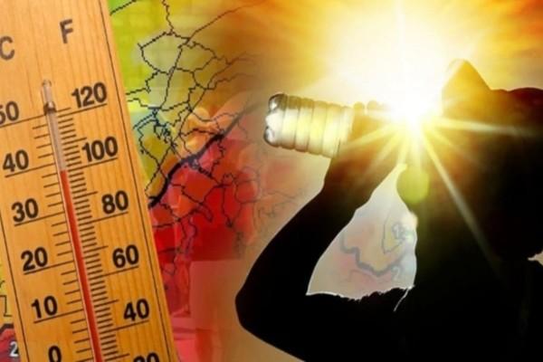 Έκτακτο δελτίο επιδείνωσης του καιρού από την ΕΜΥ: Στους 41 βαθμούς ο υδράργυρος