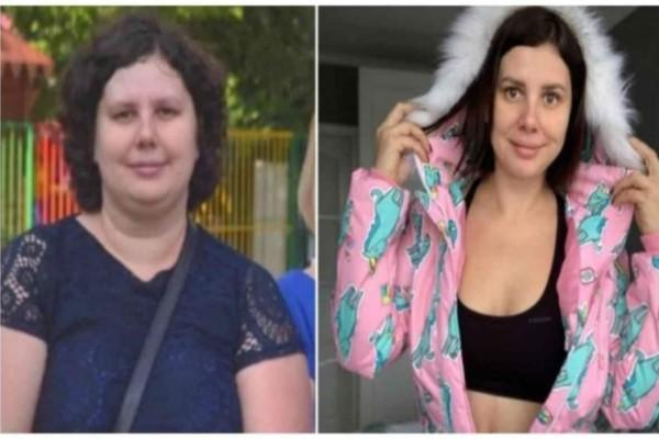 Ο άντρας της τη χώρισε γιατί είχε παχύνει - Εκείνη έχασε 25 κιλά και έκανε το απίστευτο