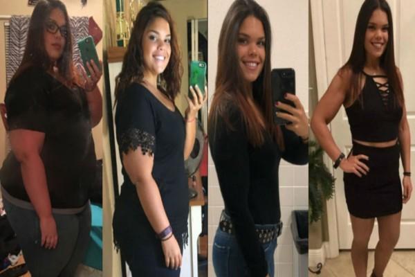 19χρονη κατάφερε να χάσει 77 κιλά αλλάζοντας μόνο δύο καθημερινές της συνήθειες