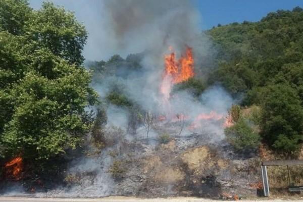Φωτιά στην Αιτωλοακαρνανία