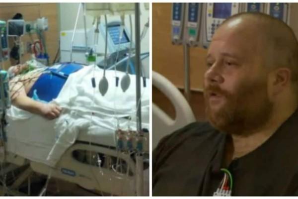 41χρονος άνδρας έχασε το σφυγμό του για 45 λεπτά - Όταν ξύπνησε αποκάλυψε... (Video)