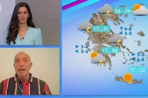 «Έρχεται η κορύφωση της κακοκαιρίας... Προσοχή σε αυτές τις περιοχές...» - Προειδοποίηση του Τάσου Αρνιακού (Video)