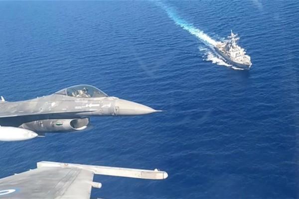 Κοινή αεροναυτική άσκηση Ελλάδας - ΗΠΑ: Μήνυμα για την Τουρκία