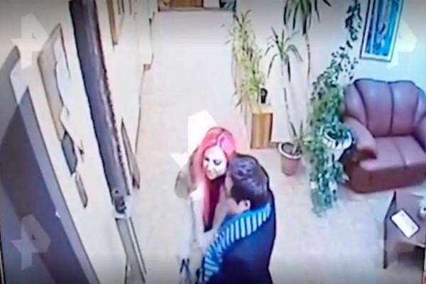 Στην κάμερα φαίνεται ένα ερωτευμένο ζευγάρι - Λίγες ώρες μετά η κοπέλα...