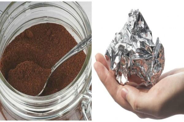 Τύλιξε σε ένα κομμάτι αλουμινόχαρτο καφέ και το έβαλε στην πόρτα του ψυγείου - Ο λόγος; Θα σας ενθουσιάσει