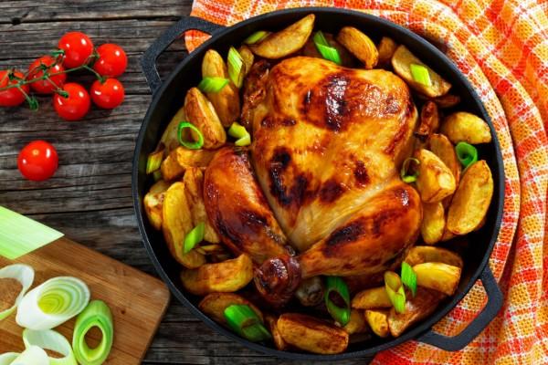 Το μυστικό συστατικό που απογειώνει το ψητό κοτόπουλο