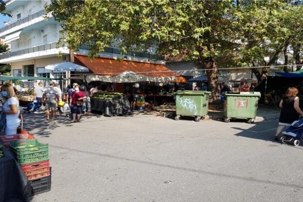Κοζάνη: Κλειστή ως τις 26 Αυγούστου η λαϊκή αγορά