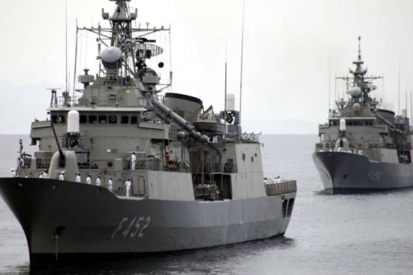 Με NAVTEX απαντά η Τουρκία στη συμφωνία Ελλάδας-Αιγύπτου: Ασκήσεις ανάμεσα σε Ρόδο-Καστελόριζο