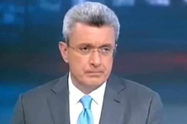 Φανερά εκνευρισμένος ο Νίκος Χατζηνικολάου -