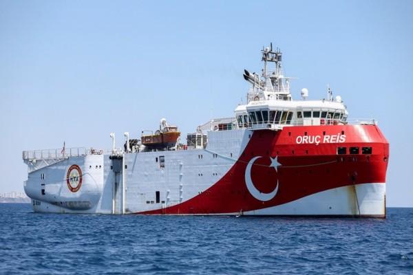 Συναγερμός στο Αιγαίο: Νέα Navtex των Τούρκων για την Ανατολική Μεσόγειο - Δεν φεύγει το Oruc Reis από την περιοχή