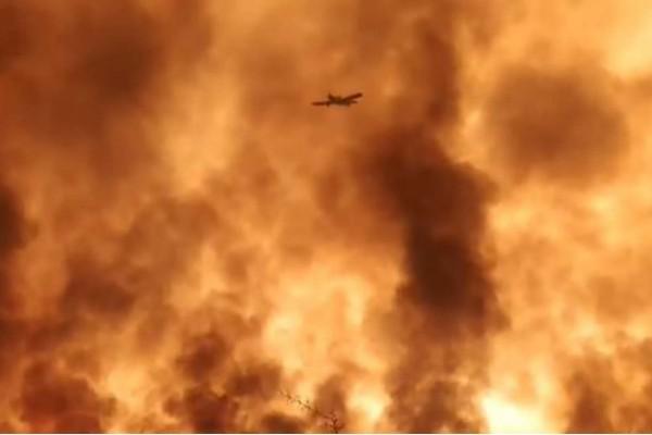 Μαίνεται η φωτιά στη Μάνη - Δύο ενεργά μέτωπα