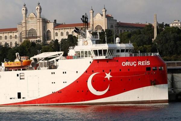 Συναγερμός στο Αιγαίο: Αυτή είναι η θέση του Oruc Reis - Θέτει θέμα Τουρκίας στην ΕΕ ο Μητσοτάκης