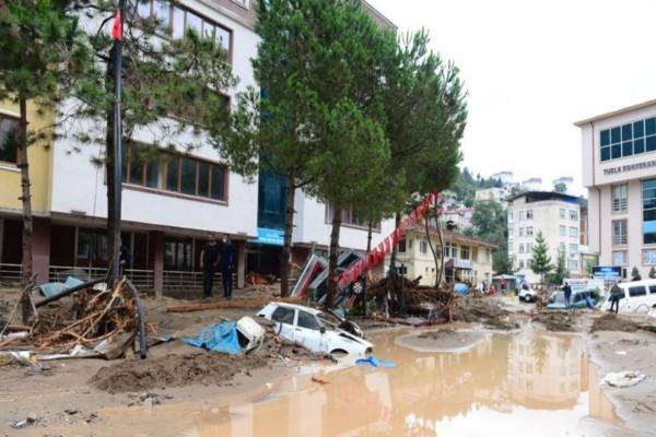 Τουρκία: 5 νεκροί από τις φονικές πλημμύρες