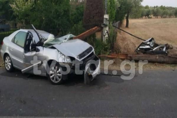 Τραγικό τροχαίο στην Ερέτρια: Νεκρός ο 32χρονος οδηγός
