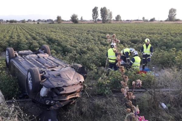 Τρίκαλα: Νεκρός 50χρονος οδηγός ΙΧ που έπεσε πάνω σε κολόνα της ΔΕΗ
