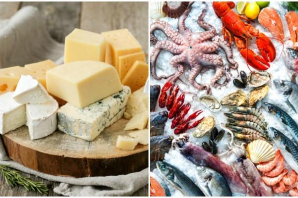 Τυρί και θαλασσινά: Πόσο ασφαλές είναι τελικά για την υγεία μας;