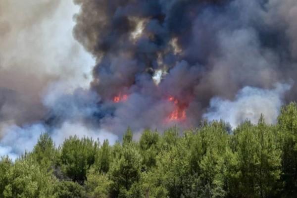 Ισχυρή πυρκαγιά στην Κεφαλονιά