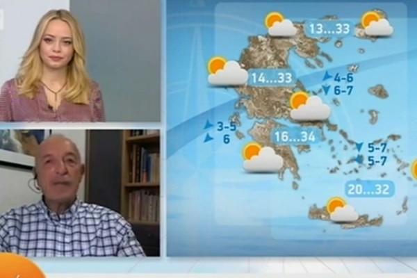 «Κακοκαιρία θα πλήξει την Ελλάδα» - Η «διαφωνία» του Τάσου Αρνιακού για τον Μεσογειακό κυκλώνα (Video)