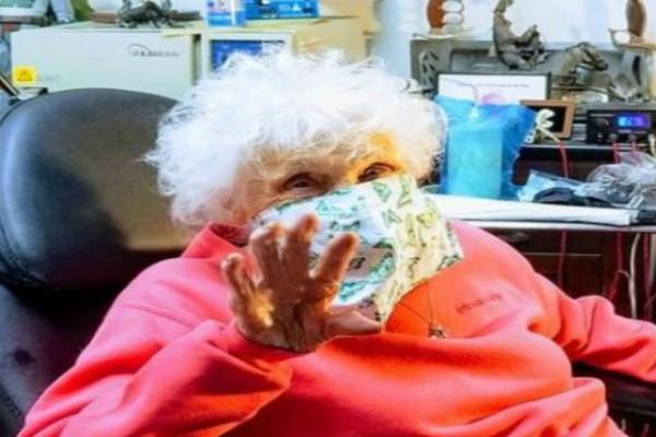 Αυτή η γιαγιά έγινε 103 ετών - Δεν φαντάζεστε ποια ήταν η επιθυμία της και πώς τα γιόρτασε