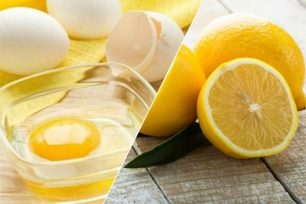 Ανακάτεψε αυγό με λεμόνι και το έβαλε στο πρόσωπό της - Το αποτέλεσμα ήταν θεϊκό
