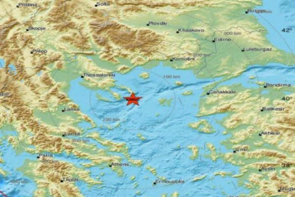 Νέος σεισμός 4,1 Ρίχτερ κοντά στο Άγιο Όρος