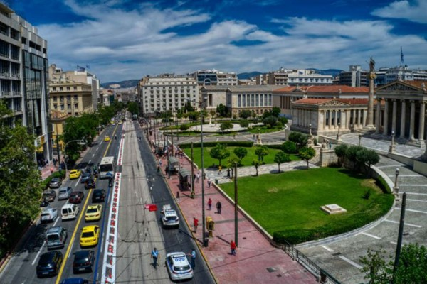 Η φωτογραφία της ημέρας: Βόλτα στο όμορφο κέντρο της Αθήνας