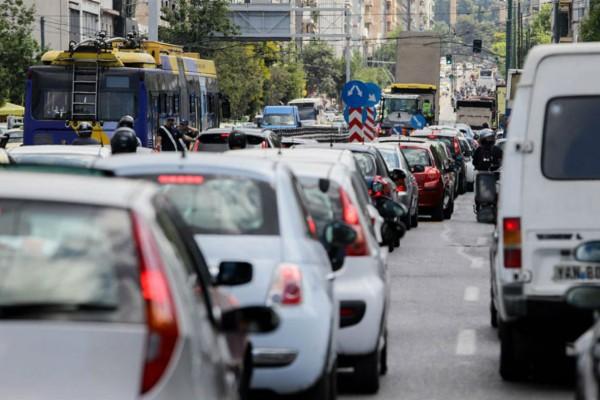 Αυξημένη κίνηση στην Αττική - Πού έχει μποτιλιάρισμα (photo)
