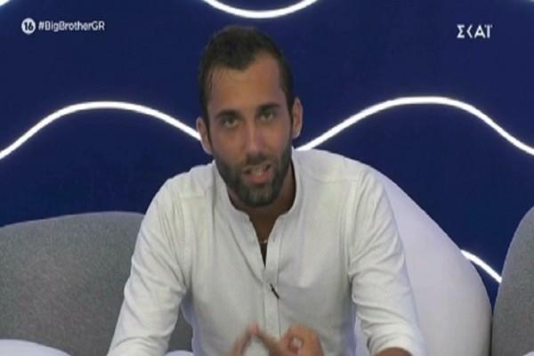 Big Brother: Άγριο ξέσπασμα του Δημήτρη Κεχαγιά - «Είναι ντροπή, είσαι καραγκιόζης, είσαι ρόμπα» (Video)