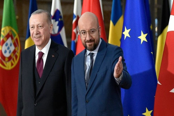 Σαρλ Μισέλ προς Ερντογάν: Αλληλεγγύη σε Ελλάδα και Κύπρο από την ΕΕ