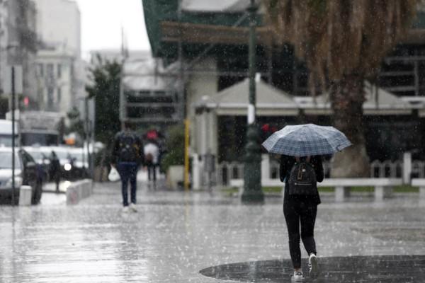 Άστατος ο καιρός σήμερα: Έντονη κακοκαιρία στα δυτικά - Αναλυτική πρόγνωση
