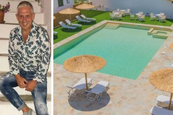 Διακοπές στην Άνδρο: Ο Τάσος Δούσης προτείνει 3 υπέροχα ξενοδοχεία με λιγότερο από 50 ευρώ την ημέρα