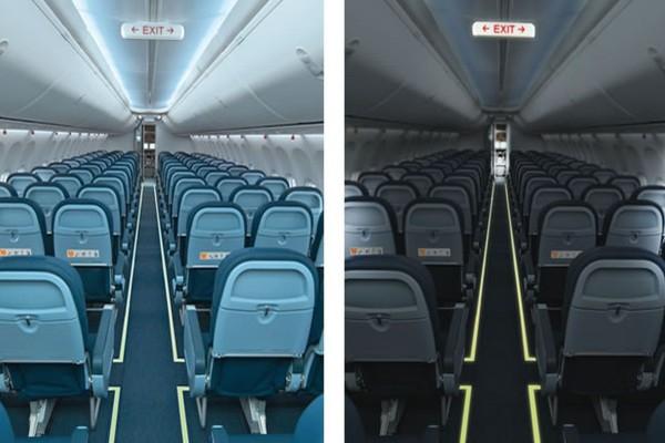 Το γνωρίζατε; Γιατί χαμηλώνουν τα φώτα στα αεροπλάνα κατά την προσγείωση και την απογείωσή τους;