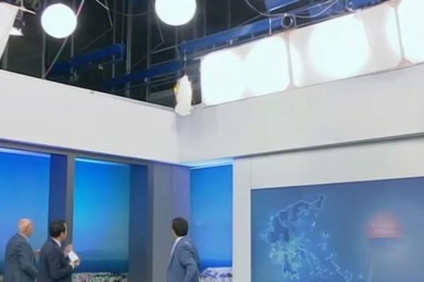 Χαμός στην εκπομπή του Γιώργου Παπαδάκη: Πήρε φωτιά το στούντιο! (Video)