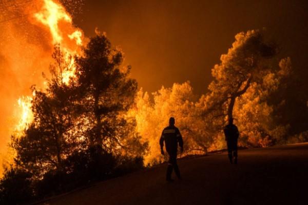Πυρκαγιά στην Κεφαλονιά