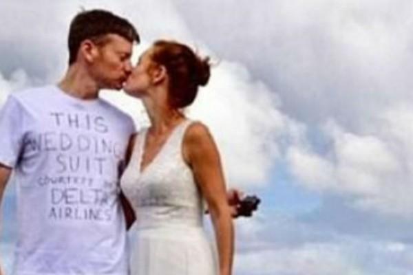 Αυτός ο γαμπρός εμφανίστηκε στο γάμο με την πιο...προκλητική εμφάνιση - Μόλις αποκάλυψε το λόγο όλοι