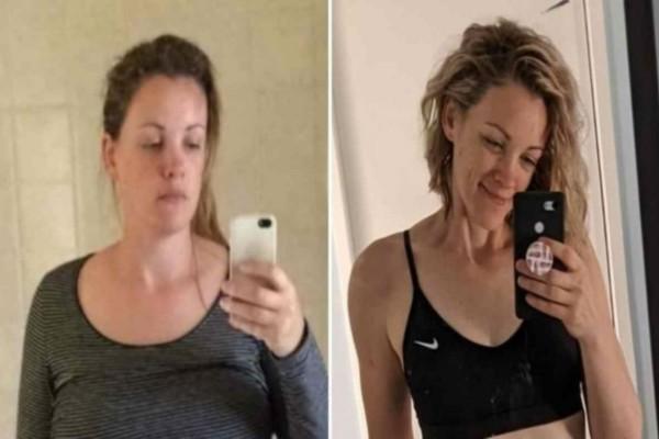 33χρονη μητέρα έχασε 30 ολόκληρα κιλά τρώγοντας... ψωμί - Η εικόνα της θα σας σοκάρει
