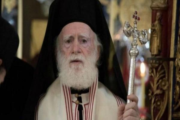 Στην εντατική διασωληνωμένος ο αρχιεπίσκοπος Κρήτης Ειρηναίος