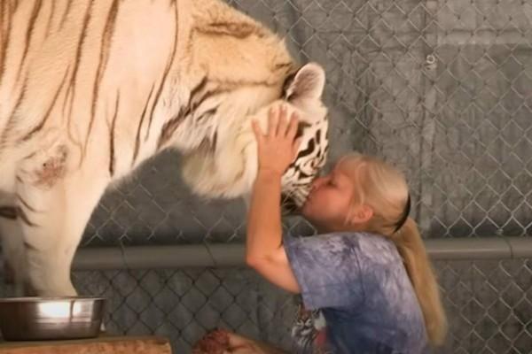 Γιαγιά φιλάει λιοντάρι στο στόμα - Η συνέχεια σοκάρει