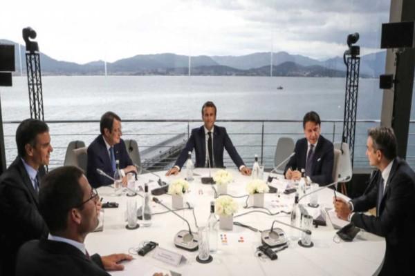 Συναγερμός στο Αιγαίο: Απόλυτη στήριξη των ηγετών της Μεσογείου σε Ελλάδα και Κύπρο