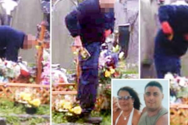 Σοκ σε νεκροταφείο: Έβαλε κρυφή κάμερα στον τάφο του συζύγου της - «Πάγωσε» με αυτό που είδε